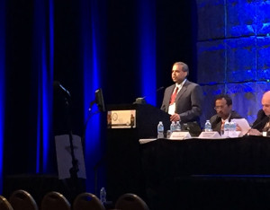 Dr. Munish C. Gupta speaks at the 50th Scoliosis Research Society Meeting