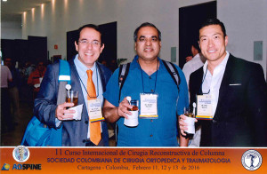 Dr. Sergio Lattes-Mendoza from Duke, Dr. Gupta from Washington University and Dr. Kim  from Hospital for Special Surgery at SCCOT